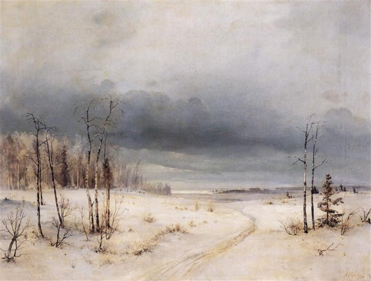 Winter, c.1870 - Aleksey Savrasov
