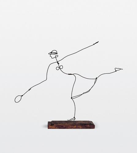 Helen Wills, 1927 - Alexander Calder