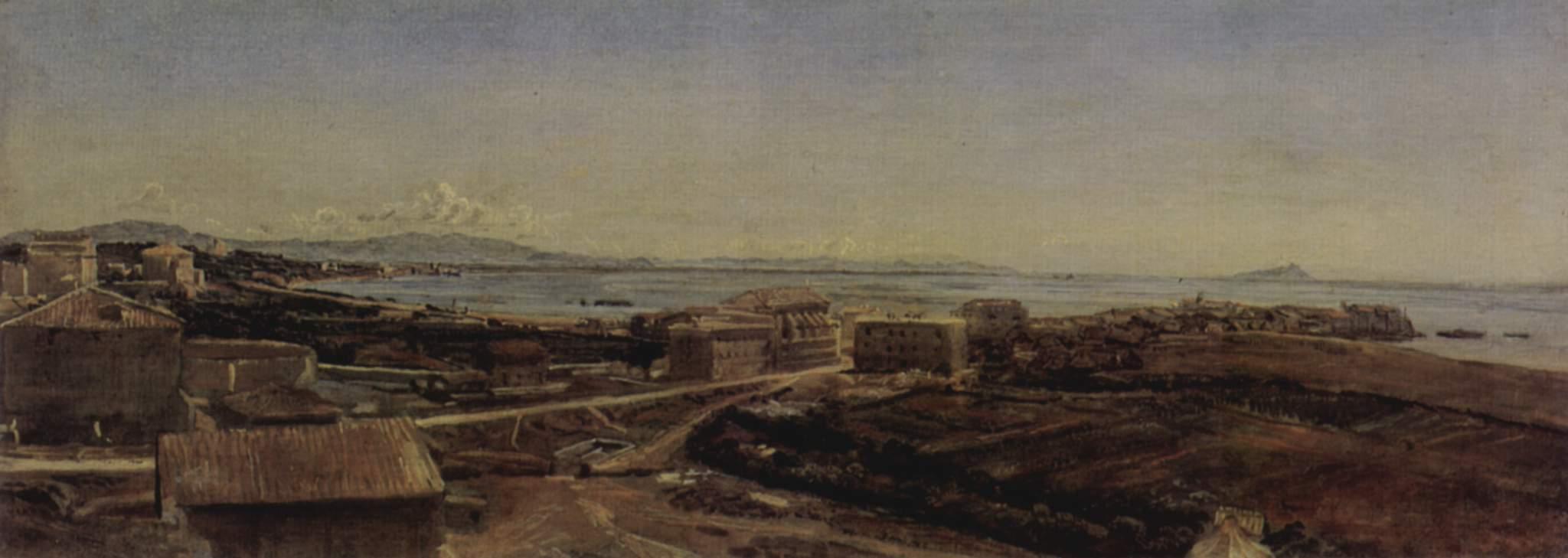 Torre del Greco near Pompea and Naples, 1846
