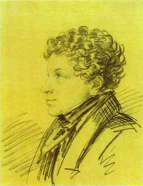 Portrait of Leo Pushkin, 1822