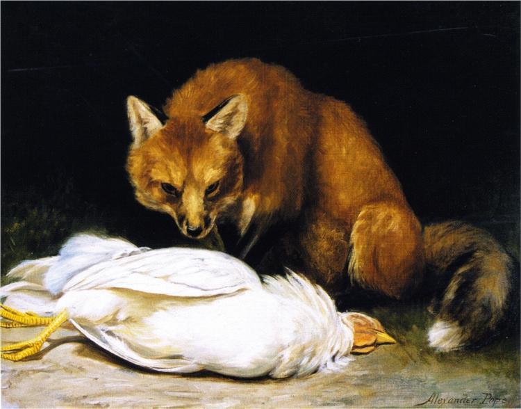 The Fox - Fair Game - Alexander Pope