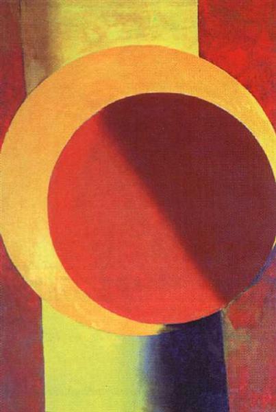 Objectless composition № 65, 1918 - Alexander Michailowitsch Rodtschenko