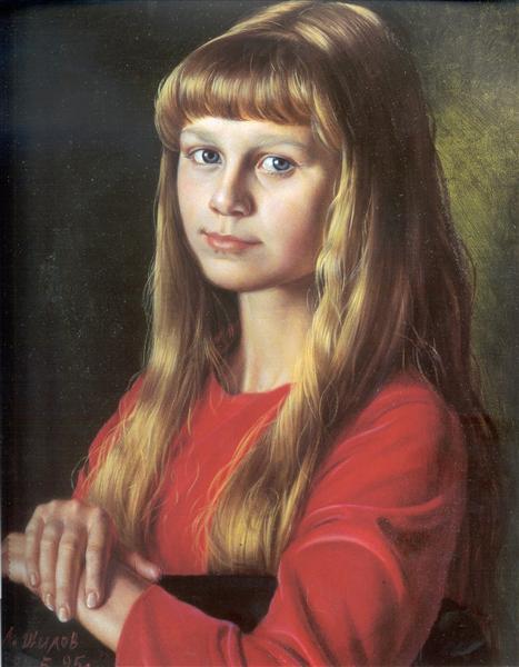 Natasha, 1995 - Alexander Shilov