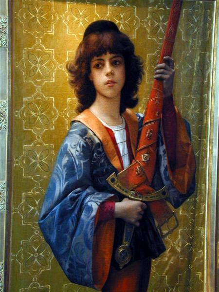 Young Page in Florentine Garb, 1881 - Alexandre Cabanel