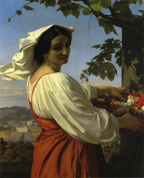 The Chiarrucia, 1848 - Alexandre Cabanel