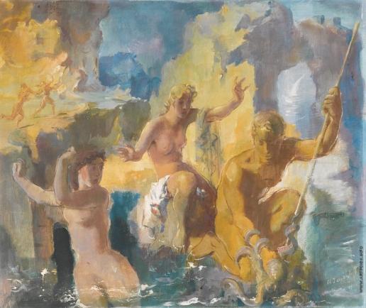 Allegory, 1935 - Alexandre Iacovleff