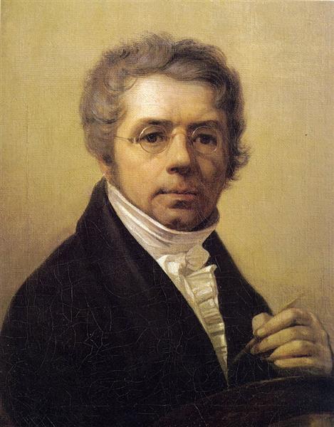 Self-Portrait, 1811 - Alexey Venetsianov