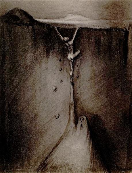Angst, 1903 - Alfred Kubin