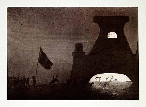 Gateway to Hell, 1900 - Альфред Кубин