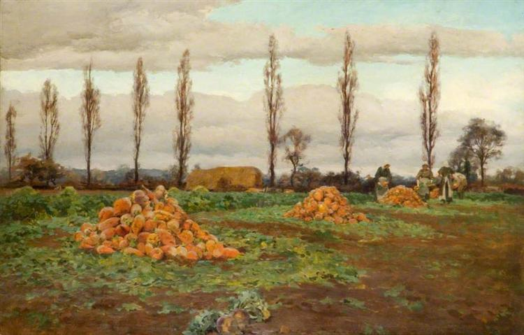 The Swede Harvest - Alfred Parsons