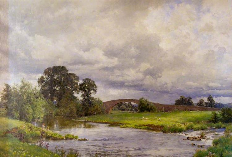 Thorverton Bridge - Alfred Parsons