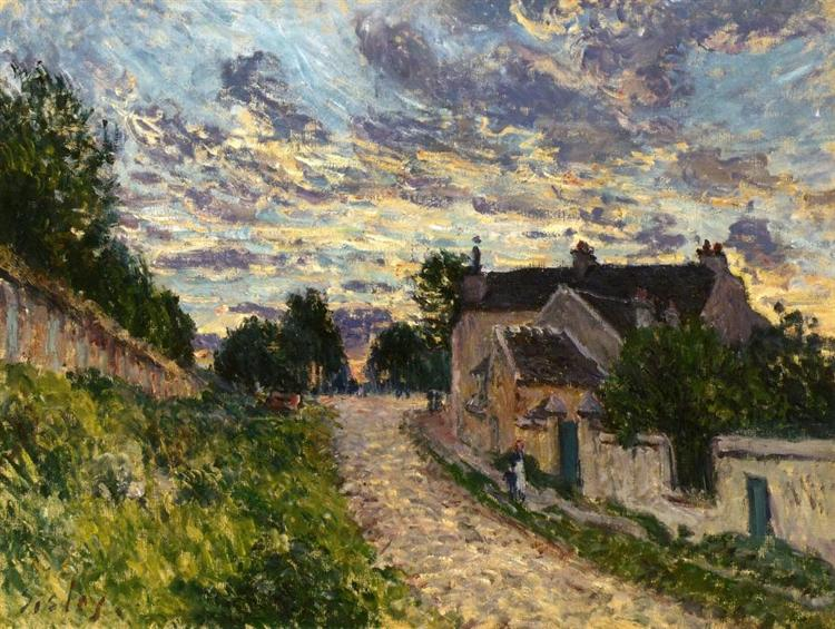 A Path in Louveciennes, 1876 - Alfred Sisley