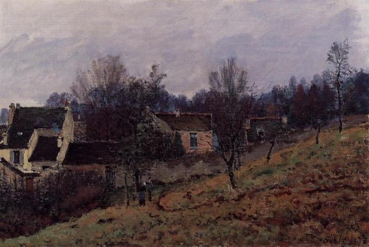 Autumn in Louveciennes, 1873 - Alfred Sisley