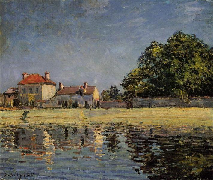 Banks of the Loing, Saint Mammes, 1885 - Alfred Sisley