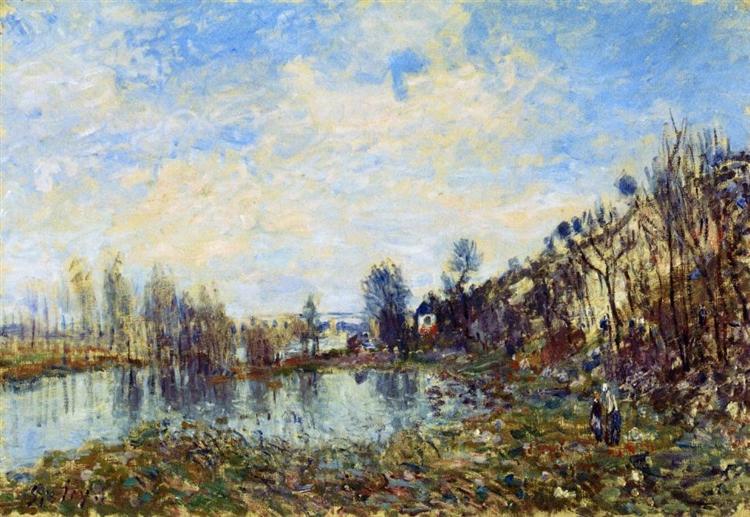 Flooded Field, 1879 - Alfred Sisley