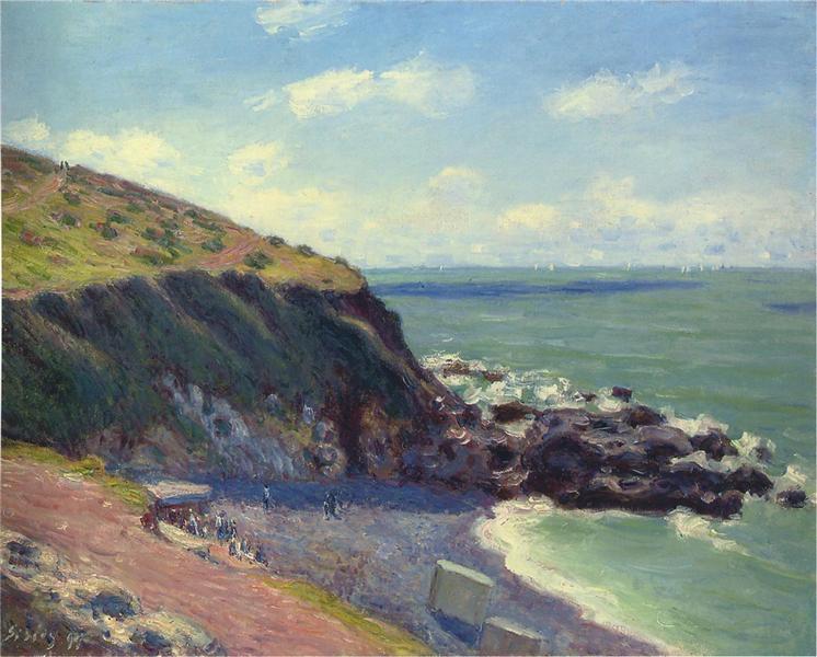 Lady s Cove, 1897 - Alfred Sisley