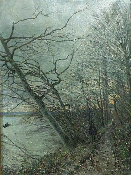 Le Bois des Roches Veneux Nadon, 1880 - Alfred Sisley