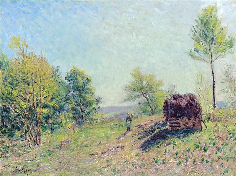 The Edge of the Forest, 1886 - Alfred Sisley