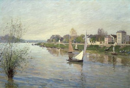The Seine at Argenteuil, 1872 - Alfred Sisley