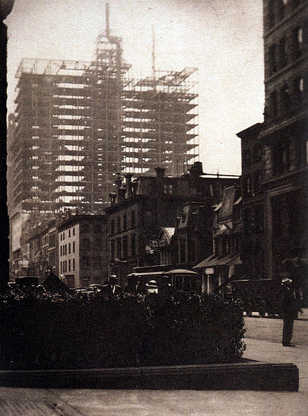 Old and New New York, 1910 - Alfred Stieglitz