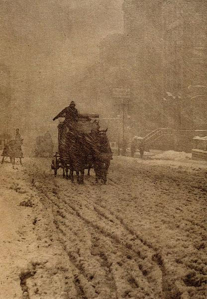 Winter – Fifth Avenue, 1893 - Альфред Стиглиц
