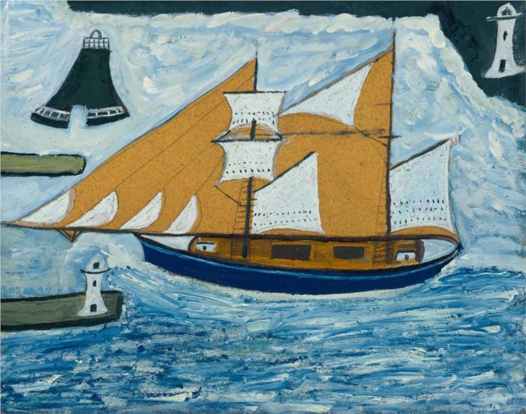 The Blue Ship, 1934 - Alfred Wallis