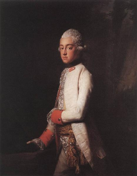 Prince George Augustus of Mecklenburg Strelitz, c.1769 - Алан Ремзі