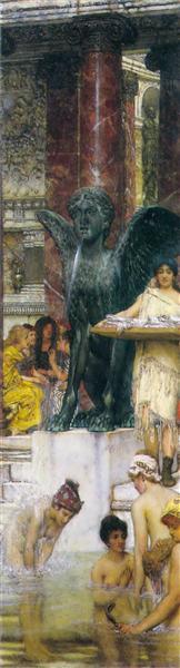 A Bath (An Antique Custom), 1876 - Sir Lawrence Alma-Tadema