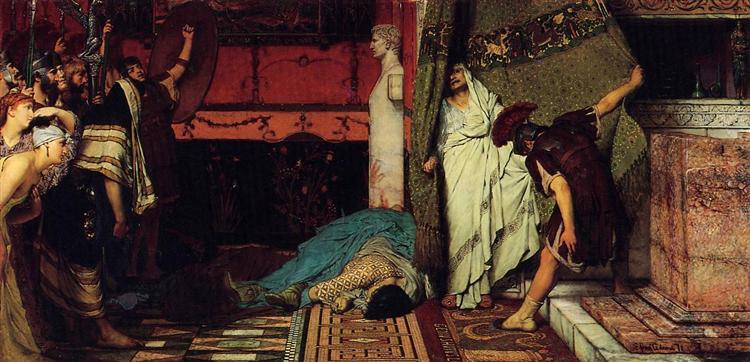 A Roman Emperor Claudius, 1871 - Sir Lawrence Alma-Tadema