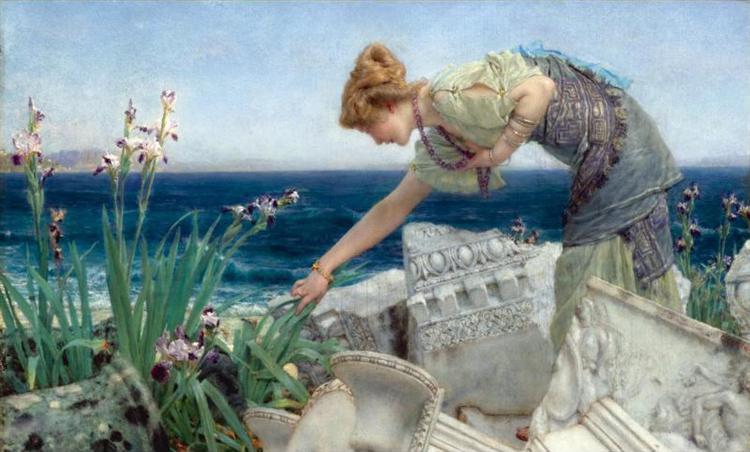 Among the Ruins, 1902 - 1904 - Sir Lawrence Alma-Tadema