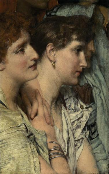 An Audience - Sir Lawrence Alma-Tadema