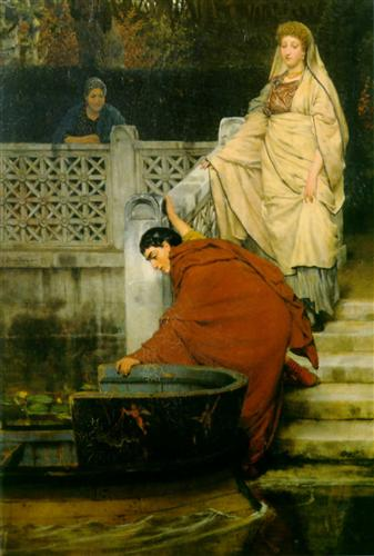 Boating - Sir Lawrence Alma-Tadema