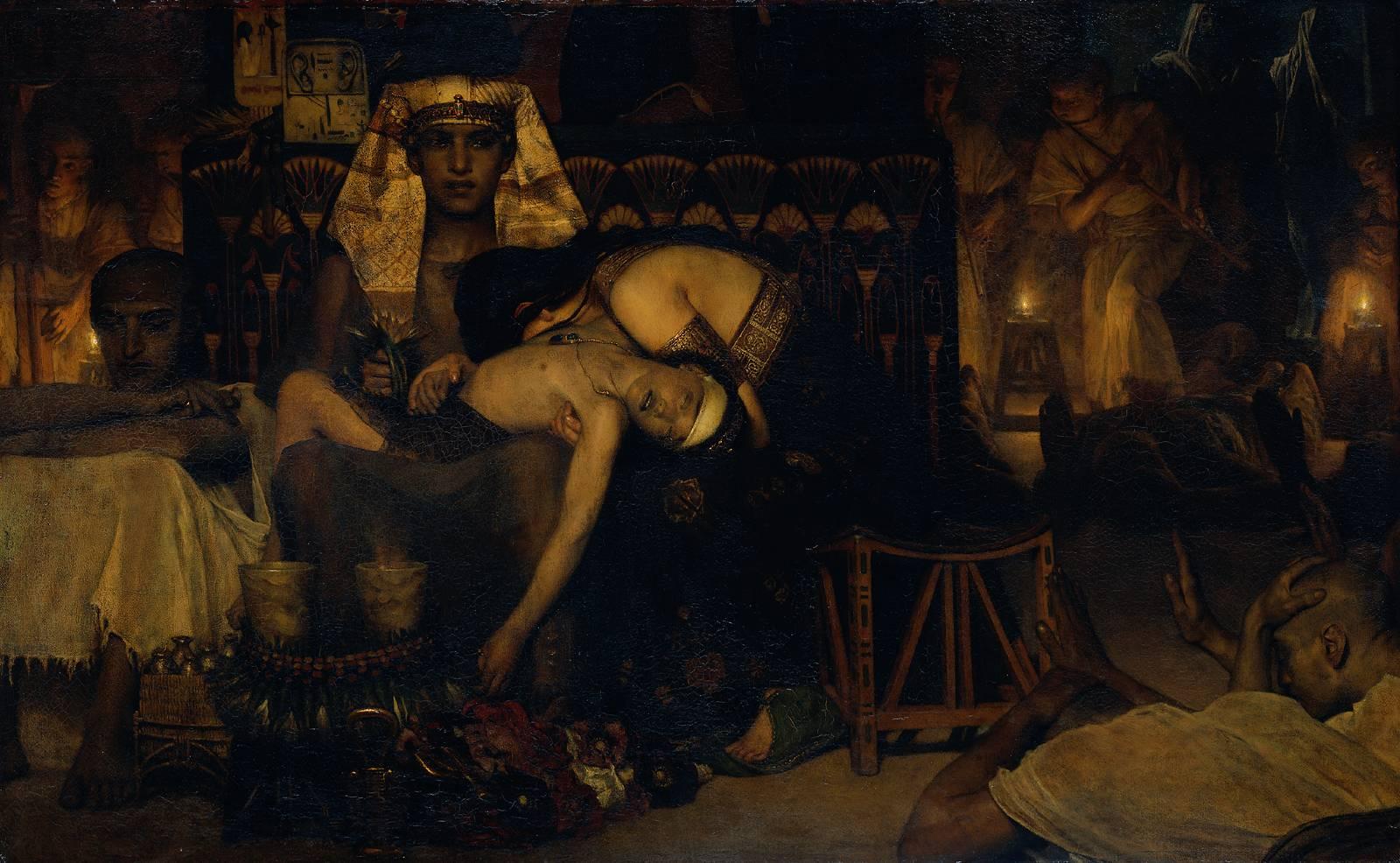 Death of the Pharaoh Firstborn son, 1872