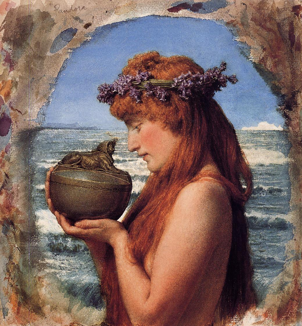 pandoras box greek mythology