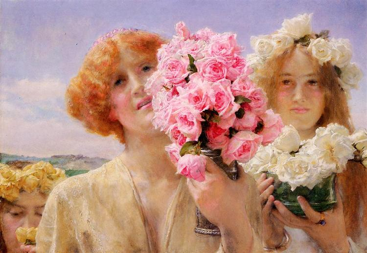Summer Offering, 1911 - Sir Lawrence Alma-Tadema