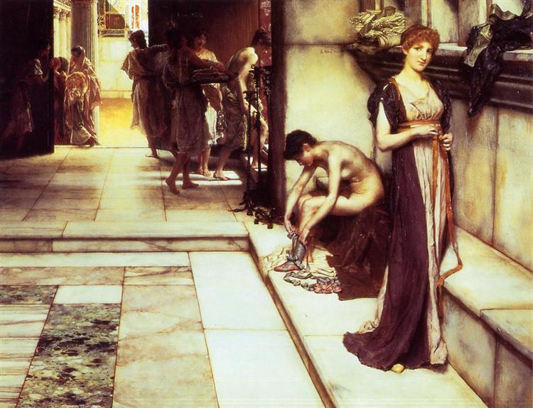 The Apodyterium, 1886 - Sir Lawrence Alma-Tadema