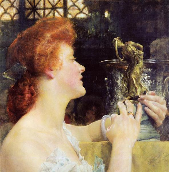 The Golden Hour, 1908 - Sir Lawrence Alma-Tadema
