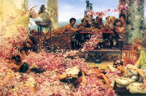 The Roses of Heliogabalus - Sir Lawrence Alma-Tadema
