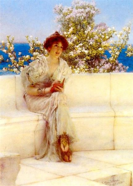 The Year s at the Spring. All s Right with the World, 1902 - Sir Lawrence Alma-Tadema