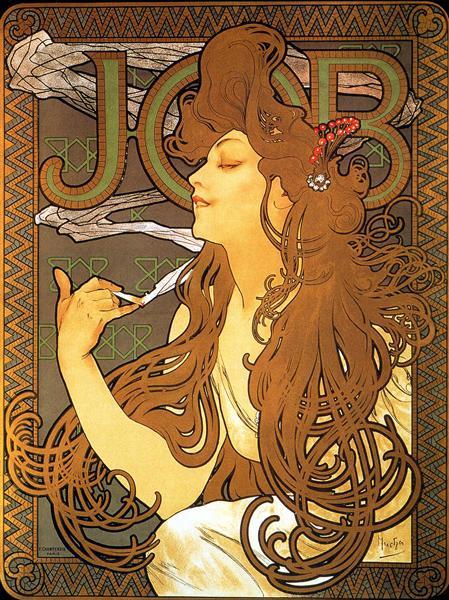 Job, 1896 - Alphonse Mucha