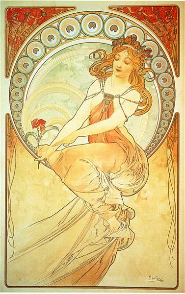 Painting, 1898 - Alphonse Mucha