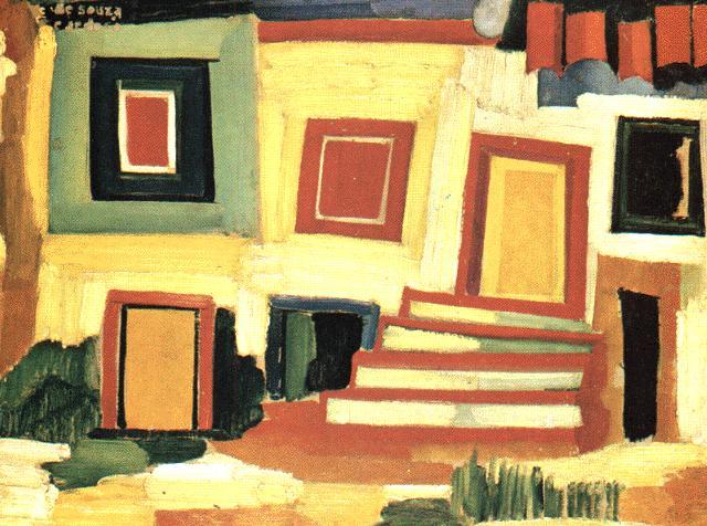 A clear house, 1916 - Amadeo de Souza-Cardoso