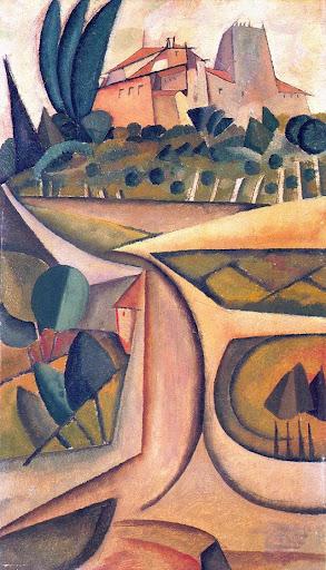 House Manhufe, 1913 - Amadeo de Souza-Cardoso