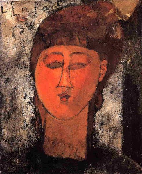 Fat Child, 1915 - Амедео Модільяні