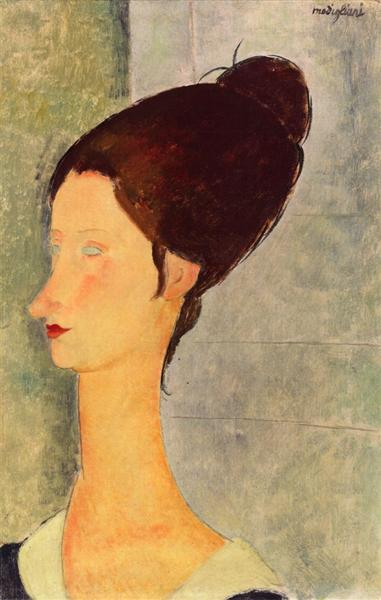 Jeanne Hebuterne, 1918 - Amedeo Modigliani