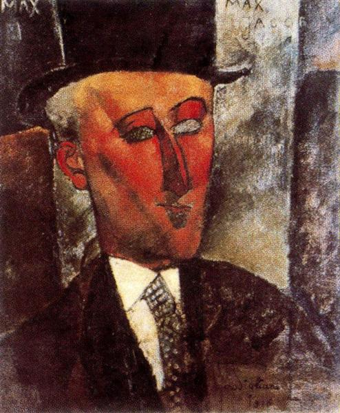 Max Jacob, 1916 - Amedeo Modigliani