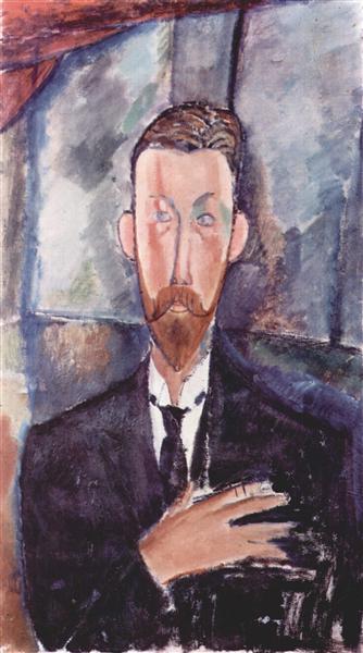 Portrait de Paul Alexanders, 1913 - Amedeo Modigliani
