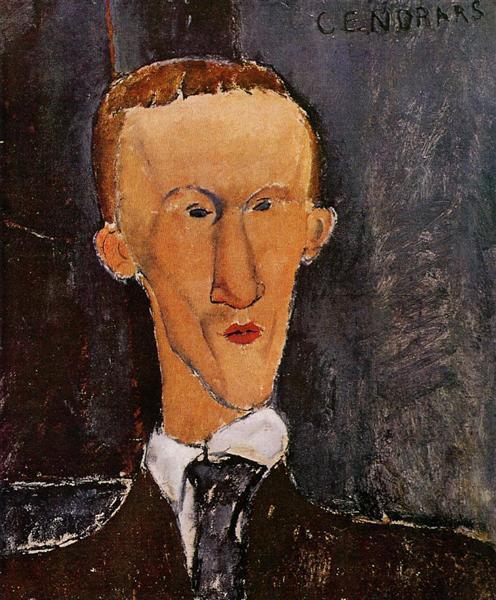 Portrait of Blaise Cendrars, 1917 - Amedeo Modigliani