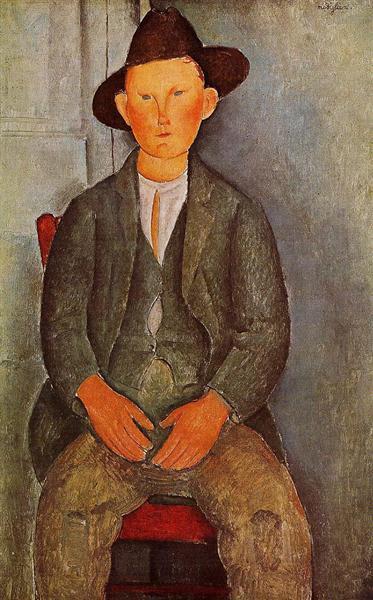 The Little Peasant, 1918 - Amedeo Modigliani