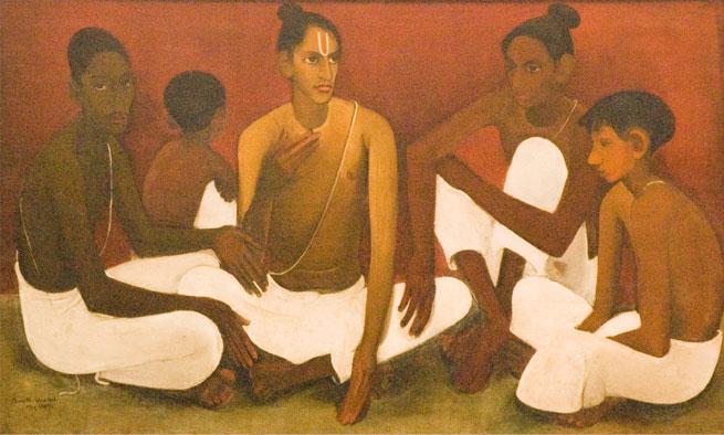 Brahmacharis, 1937 - Амріта Шер-Гіл